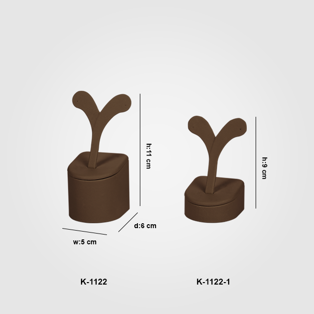 - 2 Boy Küpe Takı Standı K-1122