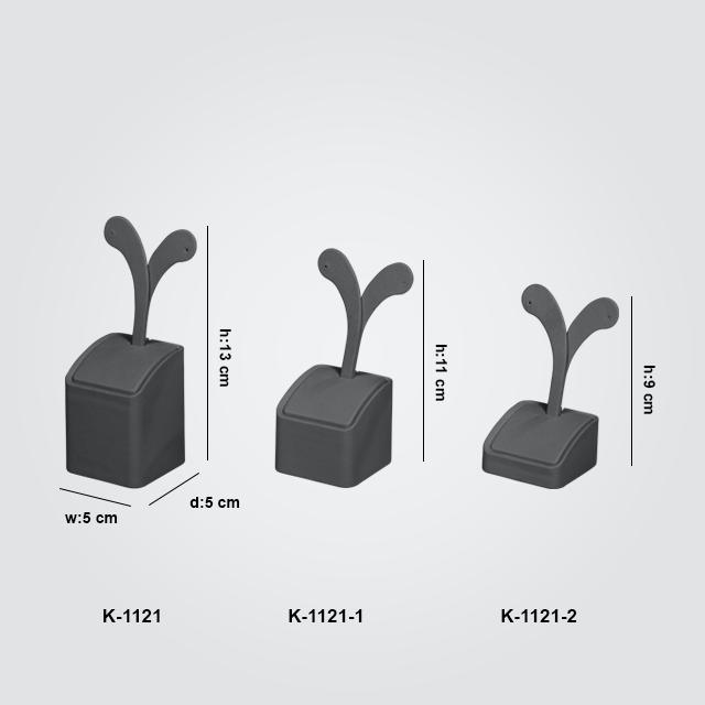 - 3 Boy Küpe Takı Standı K-1121