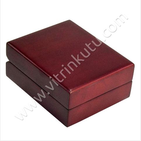 - Ahşap Üçlü Set Takı Kutusu 11x15 cm Büyük