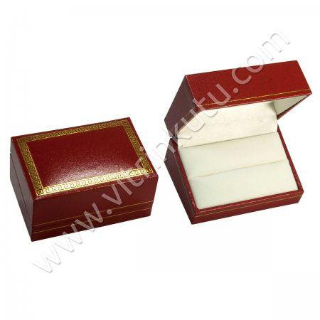 - Çift Alyans Kutusu Cartier Kırmızı