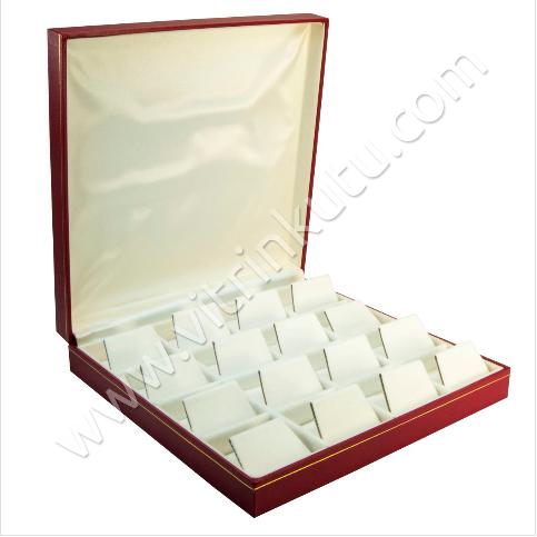 - Çoklu Küpe Kutusu 19x19.5 cm Kartier 16'lı