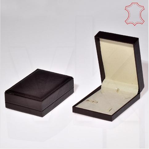 - Deri Set Takı Kutusu 10x15 cm Üzeri Dikişli