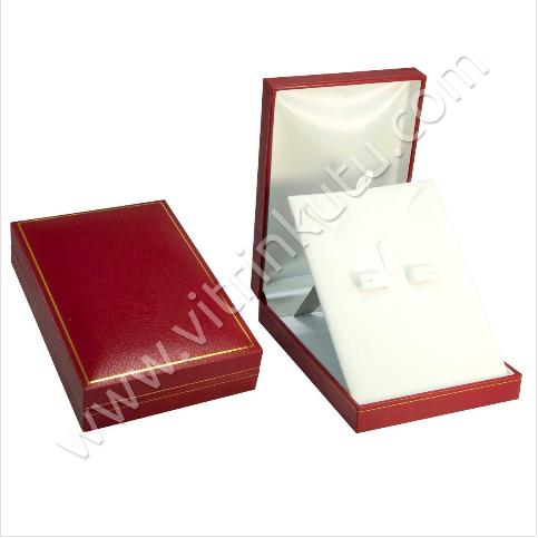 - Deri Üçlü Set Kutusu 11x16 cm Kartier