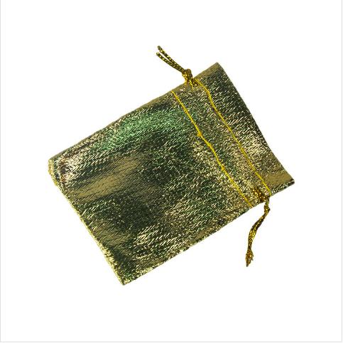 - Hediyelik Kese Lame 10x12 cm Gold 100'lü Paket
