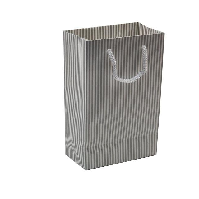 - Karton Çanta 12x17 cm Çizgili Model 4 (12'li Paket)