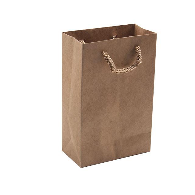 - Karton Çanta 12x17 cm Kraft (12'li Paket)