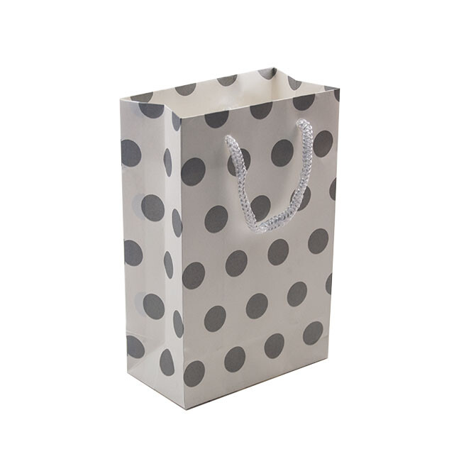 - Karton Çanta 12x17 cm Puantiyeli 12'li Paket