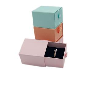 - Karton Çekmeceli Yüzük Kutusu (12 li)