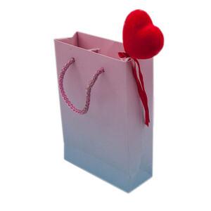 - Karton Renkli İpli Çanta (12'li Paket)