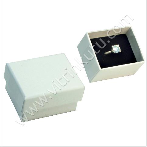 - Karton Yüzük Kutusu 24'lü Paket Beyaz