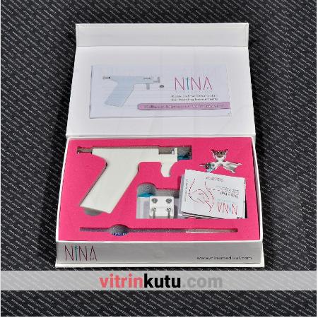 - Kulak Delme Tabancası Nina 20x18 cm Takım