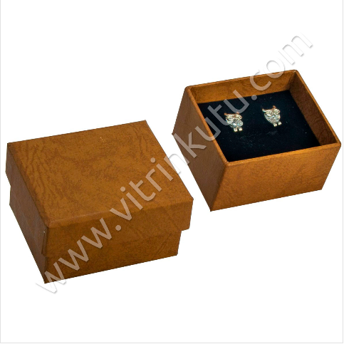 - Küpe Kutusu 7x6 cm Lüx Karton 1000T