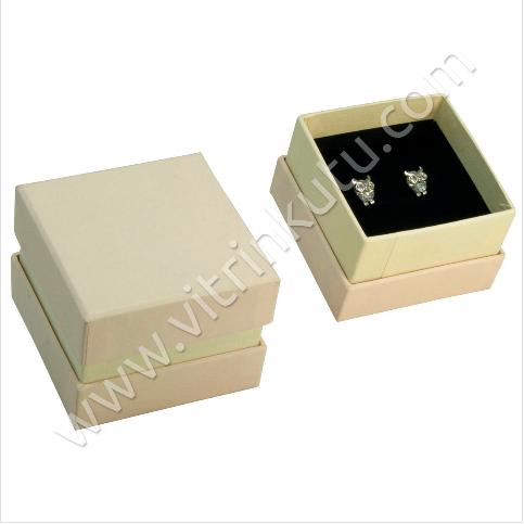 - Küpe Kutusu 7x7 cm Lüx Karton 2000B
