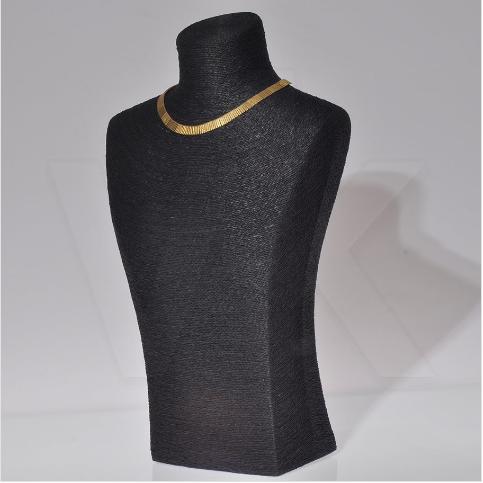 - Kuyumcu Gerdanlık Manken Standı 48 cm Siyah