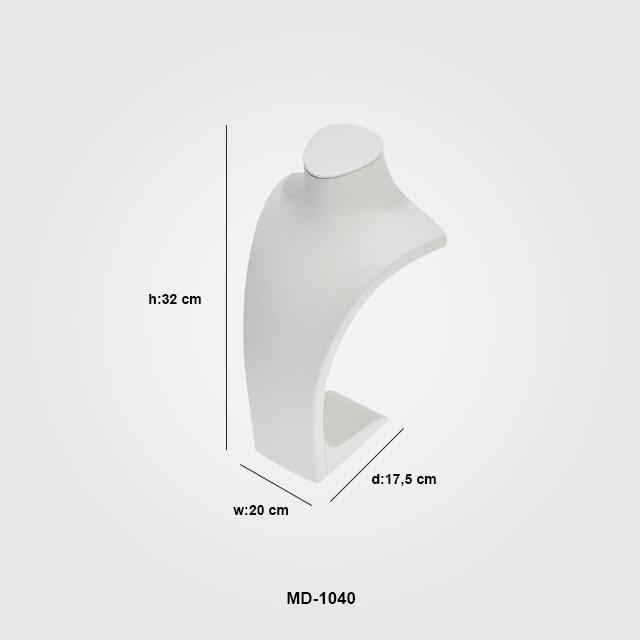 - Kuyumcu Manken Standı MD-1040 Beyaz