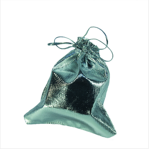 - Lame Takı Kesesi 10x12 cm Gümüş 100'lü Paket