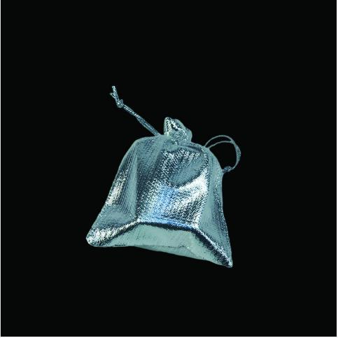 - Lame Takı Kesesi 7x9 cm Gümüş 100'lü Paket
