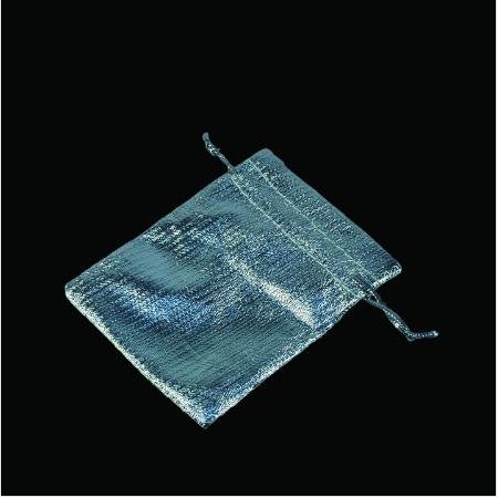 - Lame Takı Kesesi 5x7 cm Gümüş 100'lü Paket
