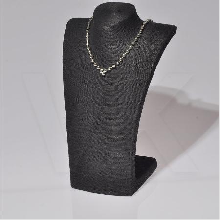 - Melisa Gerdanlık Büst Standı 23x19x35 cm Siyah