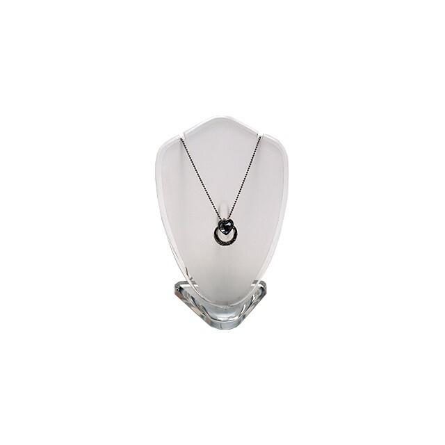 - Pleksi Oval Kolye Standı Model 1