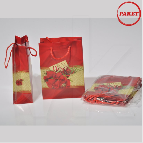 - PVC Çanta 12x17 cm Hediyelik 12'li Paket