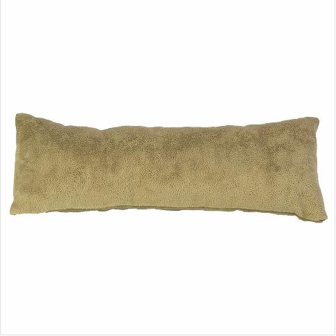 - Saat Bileklik Künye Yastığı 23 cm Uzun Süet Altın