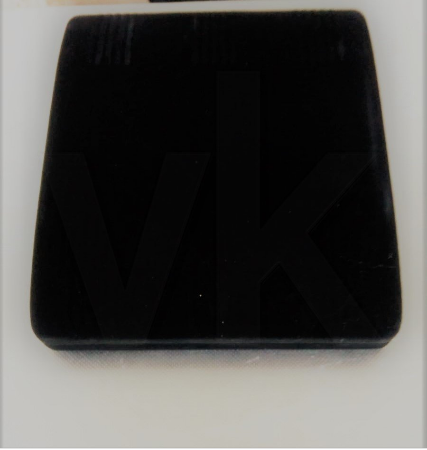 - Set Takı Kutusu 18x21 cm Flok Siyah