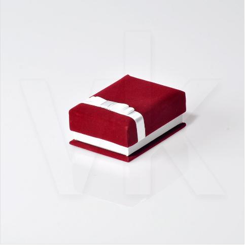 - Set Takı Kutusu Mini Kurdele Kuşaklı Kadife