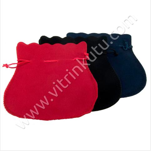 - Süet Takı Kesesi 15x18 cm Hediyelik 25'li Paket