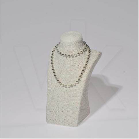 - Takı Aksesuar Manken Standı 19x19x32 cm Beyaz