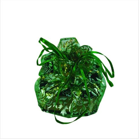- Tül Kese Hediyelik 27 cm Çap 100'lü Paket Yeşil