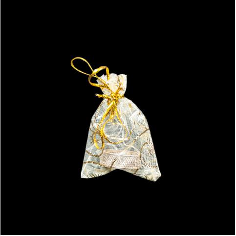 - Tül Takı Kesesi 5x7 cm Sarı 100'lü Paket