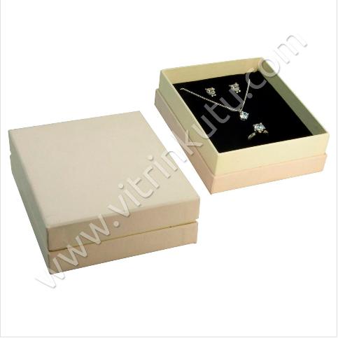 - Üçlü Set Kutusu 12.5x10.5 cm Lüx Karton 2000B