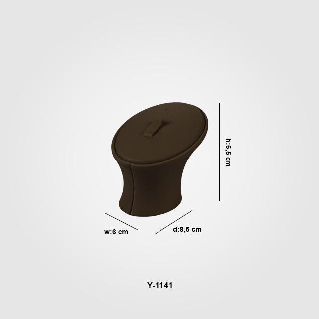 - Yüzük Standı Tırnaklı 1 Boy Y-1141 Kahverengi