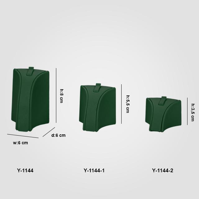 - Yüzük Standı Tırnaklı 3 Boy Y-1144 Yeşil