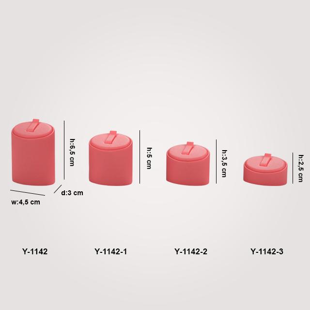 - Yüzük Standı Tırnaklı 4 Boy Y-1142 Kırmızı